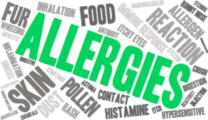 How does acupuncture work in treating Allergies?